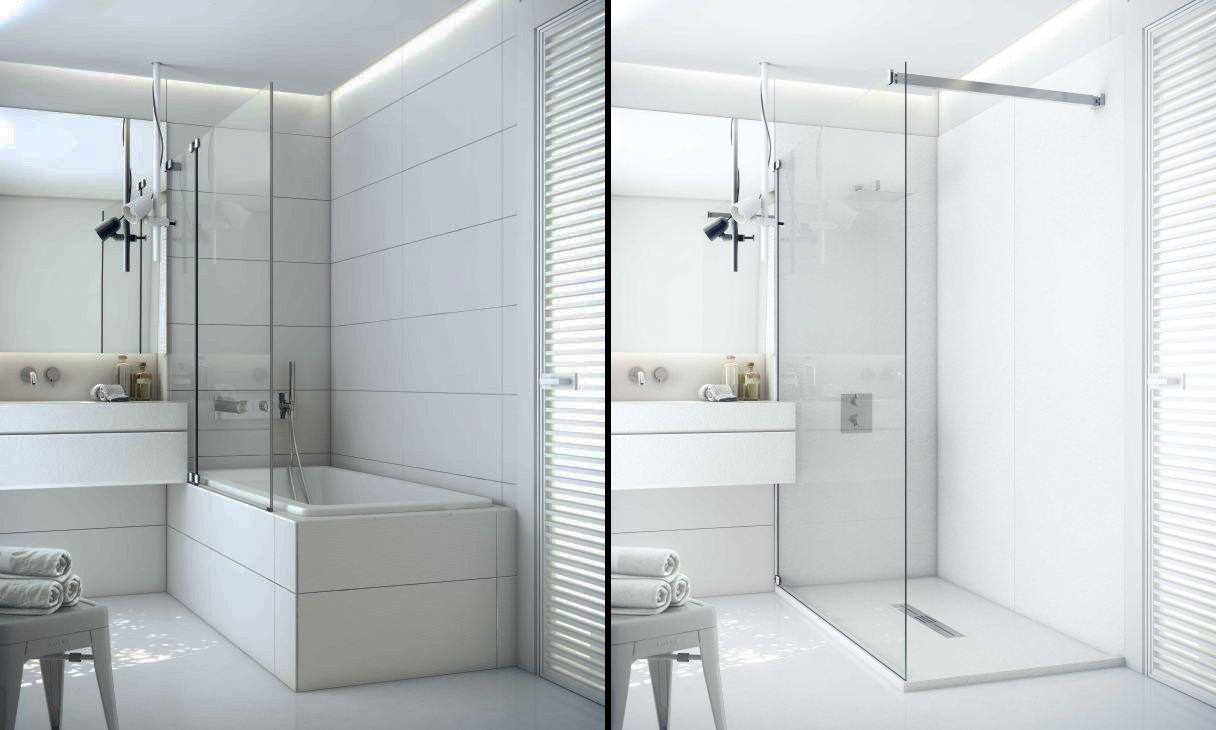 Sostituzione vasca con doccia dimensione edilizia - Sostituzione vasca in doccia ...