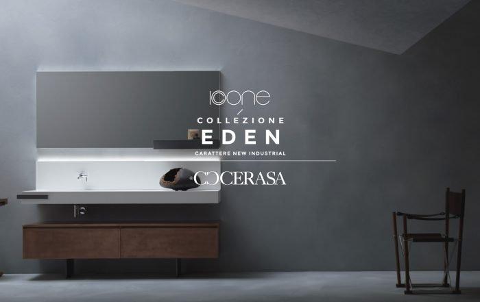 Arredo bagno collezione Eden di Cerasa