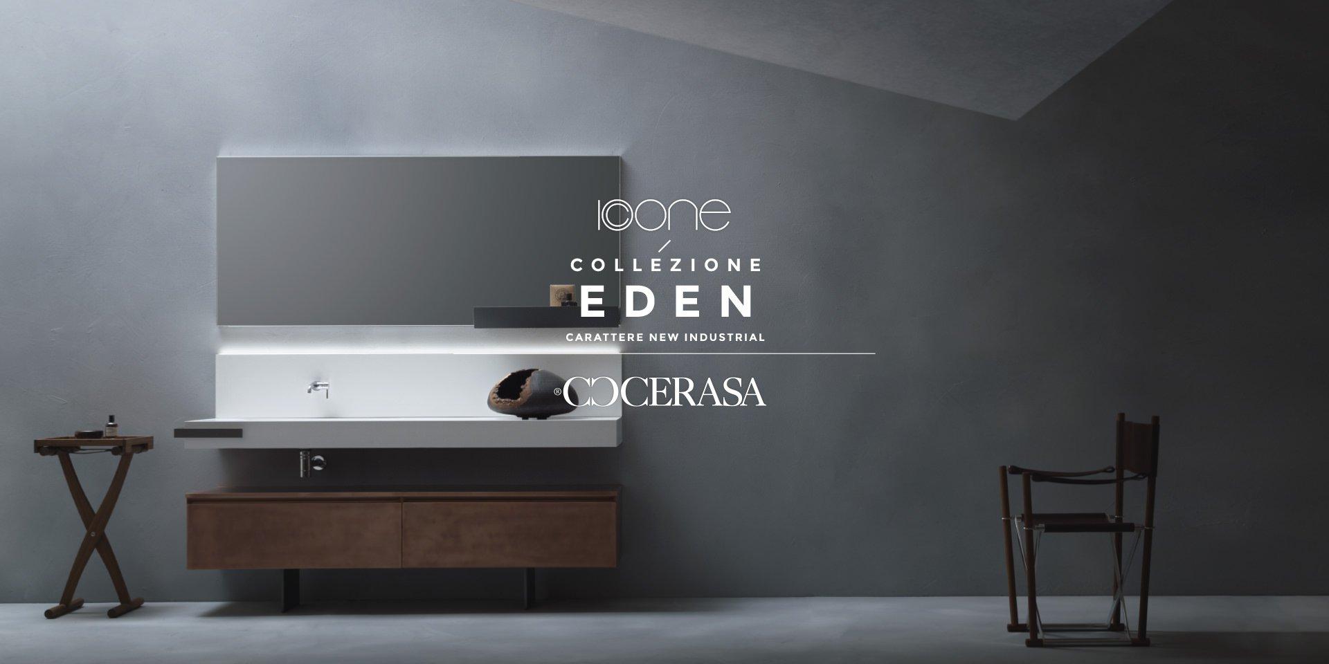 Eden Collezione Arredo Bagno di Cerasa | Dimensione Edilizia